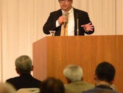 八重山日報編集長「沖縄では地元マスコミ2紙が一方的なイデオロギーで言論空間を歪ませている。日本全体が脅威に晒されかねない」 講演にて訴える