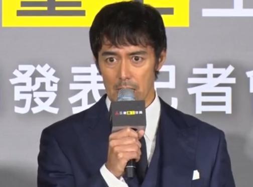 台湾を訪問中の俳優・阿部寛(53)、エアコンの発表会イベント最中に台湾東部の地震に触れ「1000万円の寄付をします」 … 救出作業中の救助隊などにも「非常に大変だと思いますけれど、是非頑張ってほしい」と声援