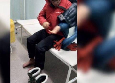 氷点下40度の極寒の地・東シベリア・サハ共和国を自転車で旅していた日本人学生4人を保護 … 寒さで旅が続けられなくなり、テントで休んでいた4人を通り掛かりの住民が発見、病院に運ぶ