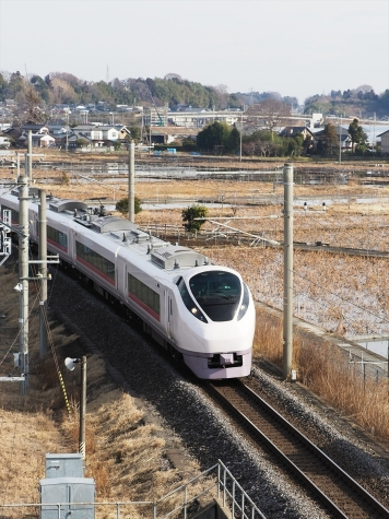 JR常磐線 E657系 特急 ひたち6号【土浦運輸区付近】