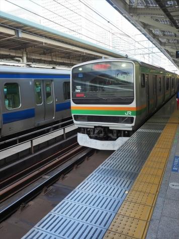 JR上野東京ライン E231系 電車
