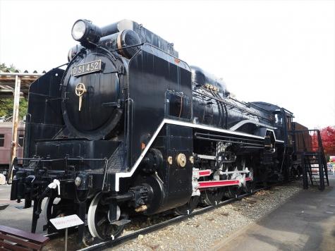 D51 452号 蒸気機関車【青梅鉄道公園】