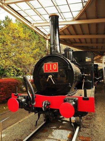 110号 蒸気機関車【青梅鉄道公園】
