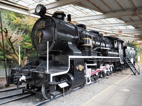 9608号 蒸気機関車(9600形)【青梅鉄道公園】