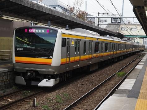 JR南武線 E233系8000番台【稲田堤駅】