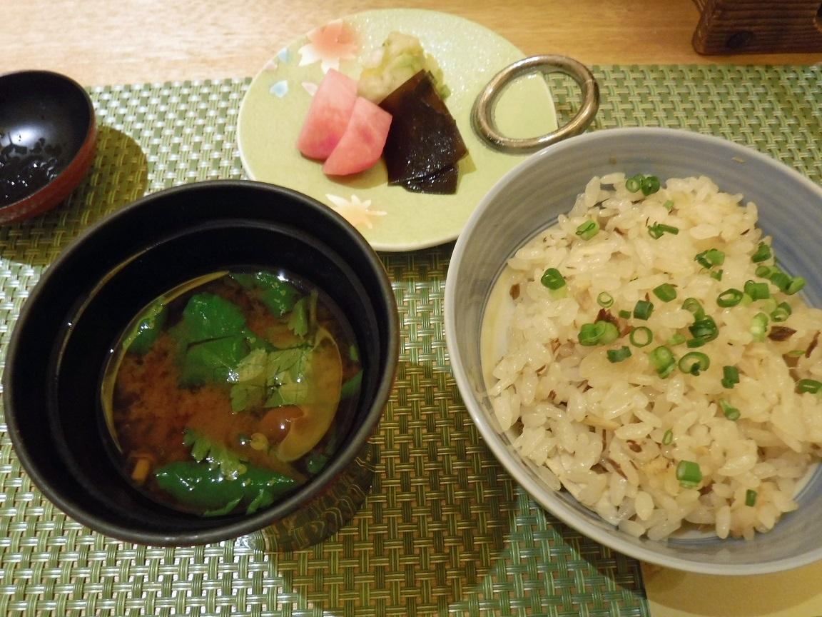26日 ブログ 夕食 ぶり大根ご飯.jpg