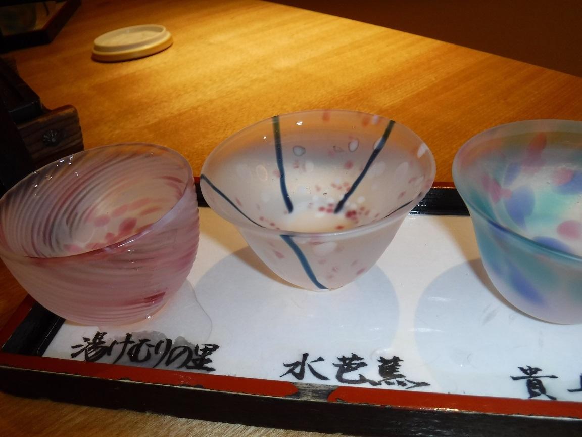 ブログ 26日 夕食の利き酒.jpg