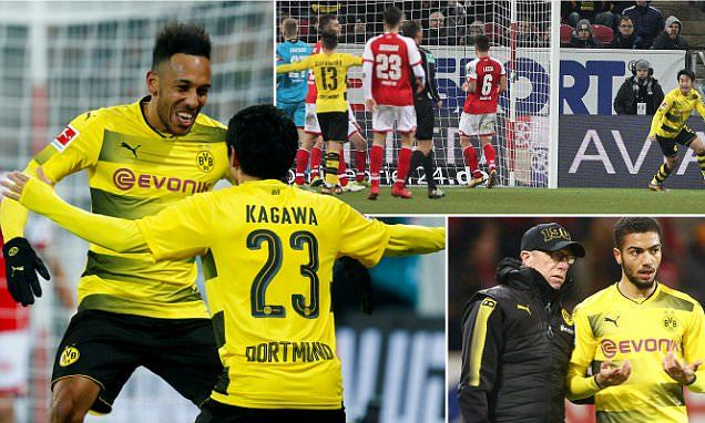 Mainz 0-2 Dortmund Kagawa ensures first win for Stoger