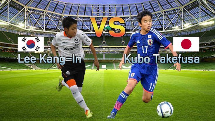 Kubo Takefusa vs Lee Kang-In