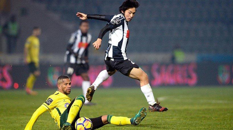 Shoya Nakajima Paços Ferreira 1-[1] Portimonense