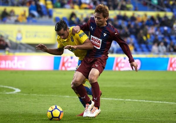 Inui 1-2 gana el Eibar a Las Palmas
