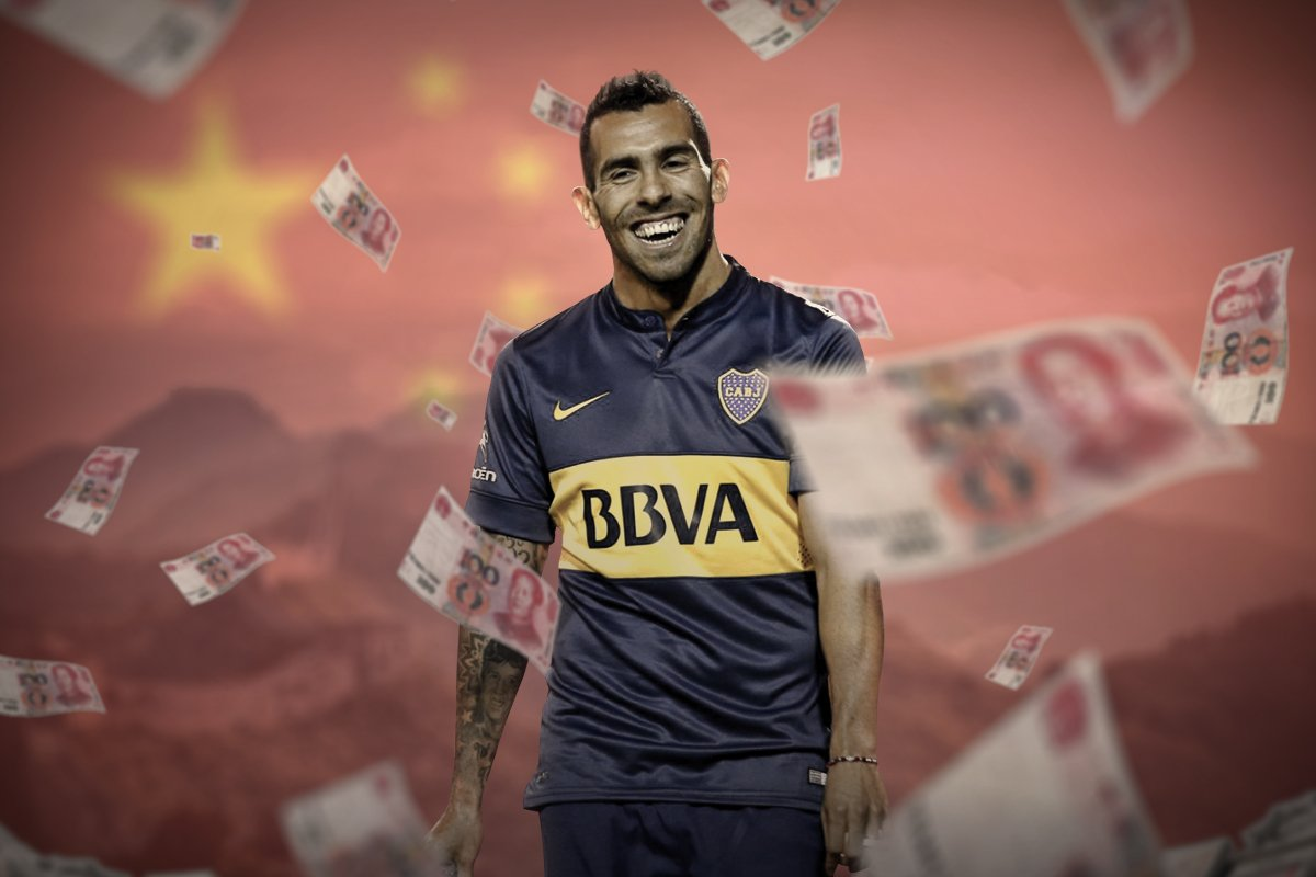 "How Carlos Tevez's Chinese ""vacation"" made him the world's best-paid player and infuriated a nation"