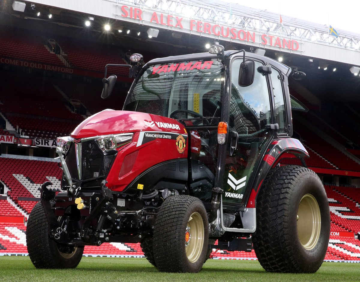 United unveil new tractor with Yanmar