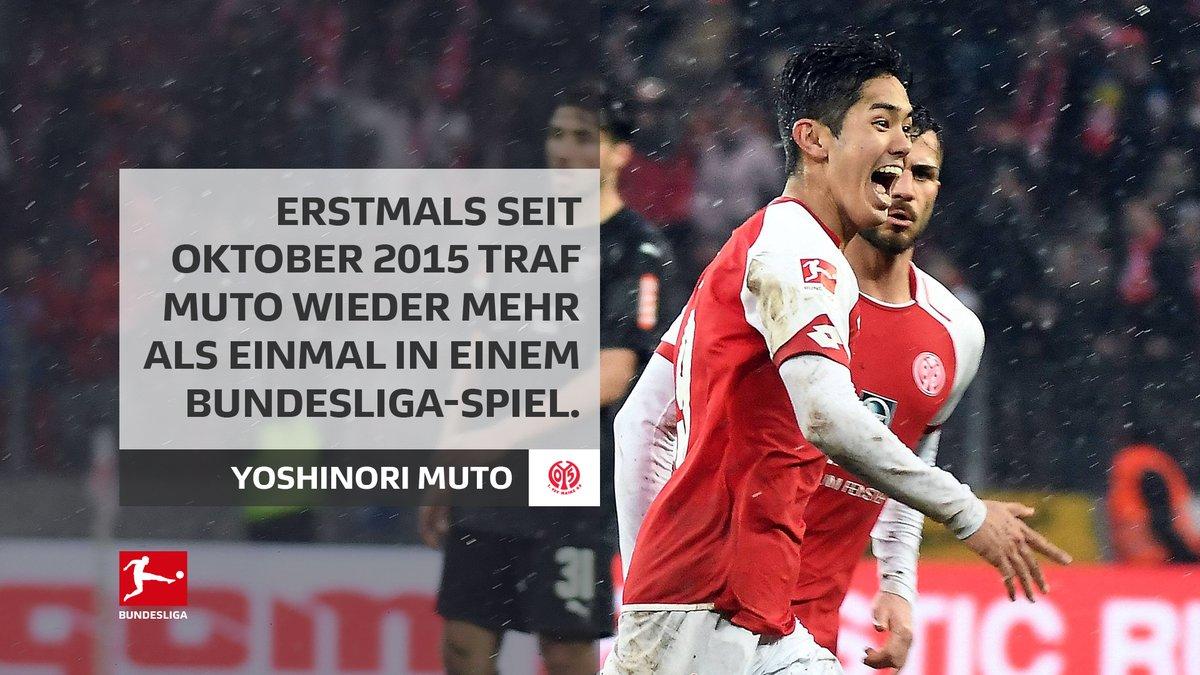 Mainz 2-1 Stuttgart (Muto) 2 goals