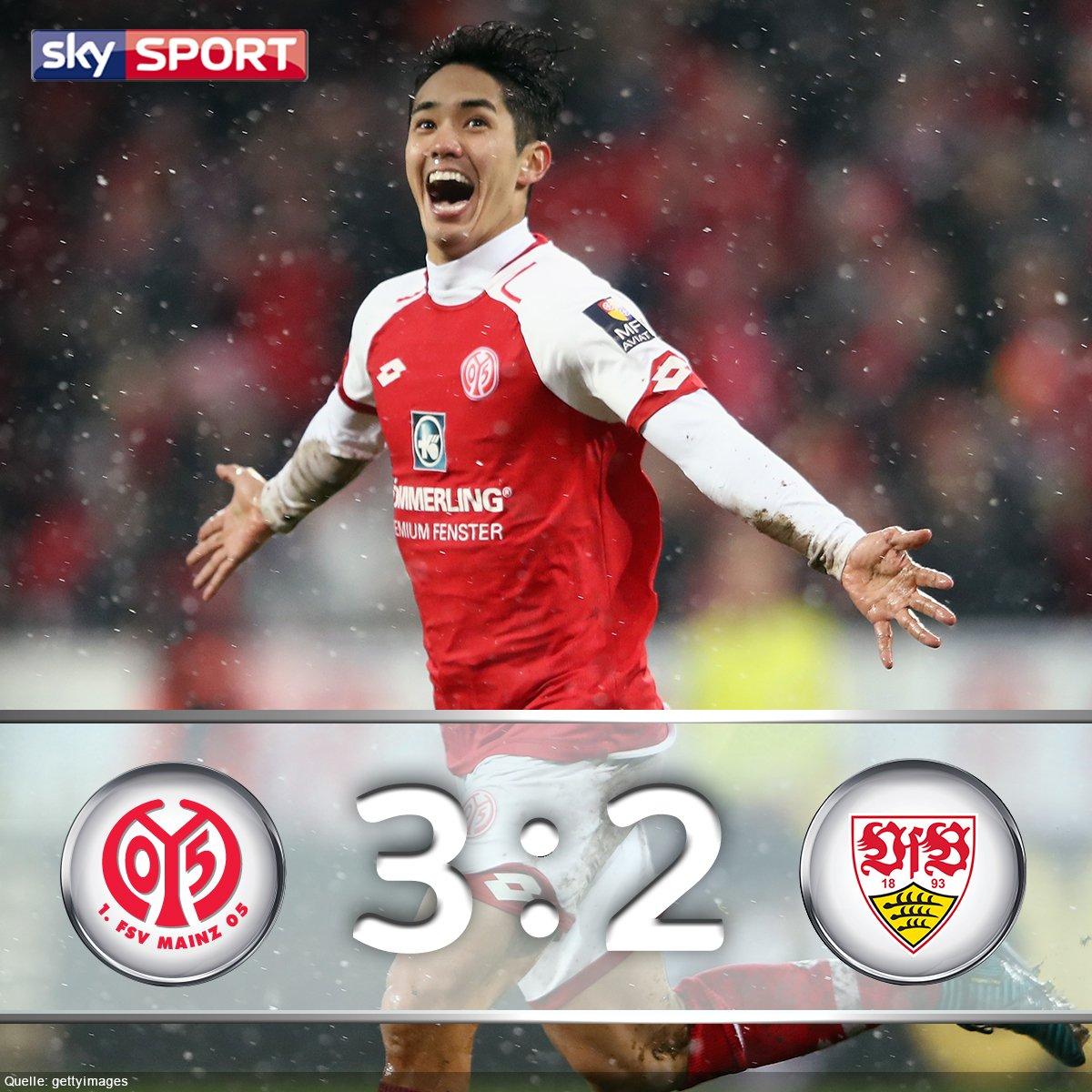 Muto schießt Mainz mit Doppelpack zum Sieg