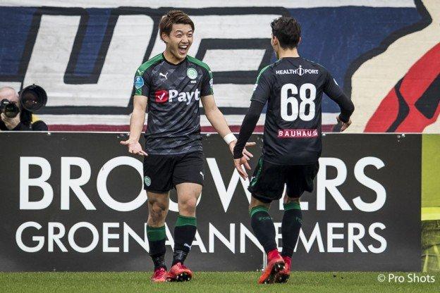 doan great goal Willem II 1 - 1 Groningen
