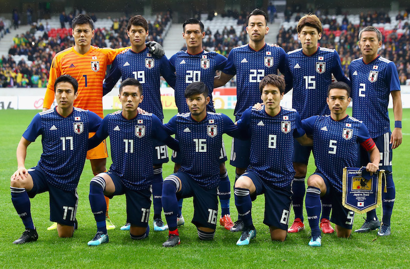 japan against brazil 2017