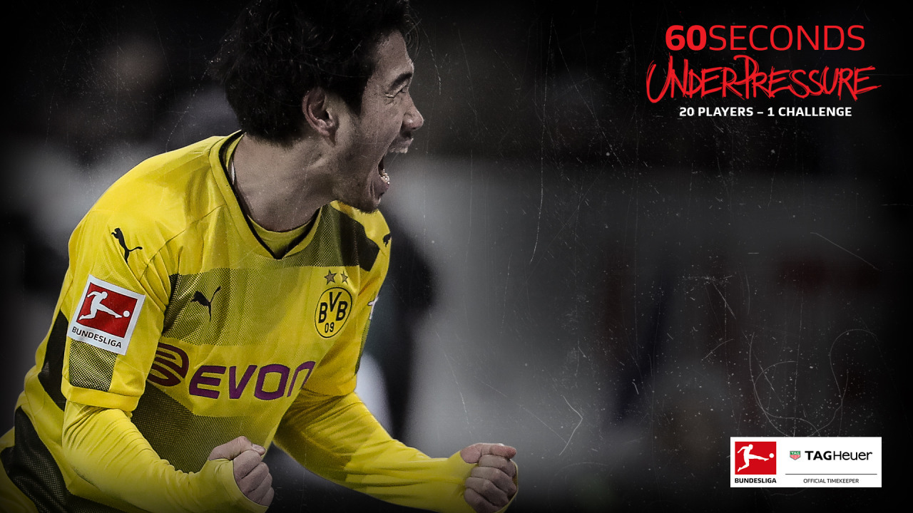 Borussia Dortmunds Shinji Kagawa 60 Seconds Under Pressure