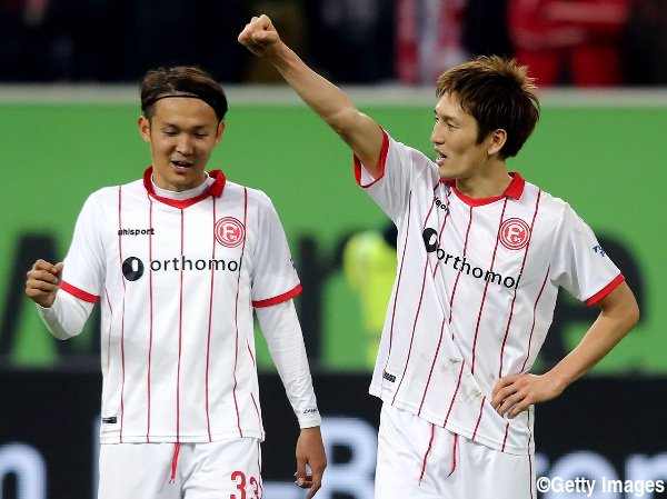 haraguchi goal assist agaisnt fc Kaiserslautern with usami