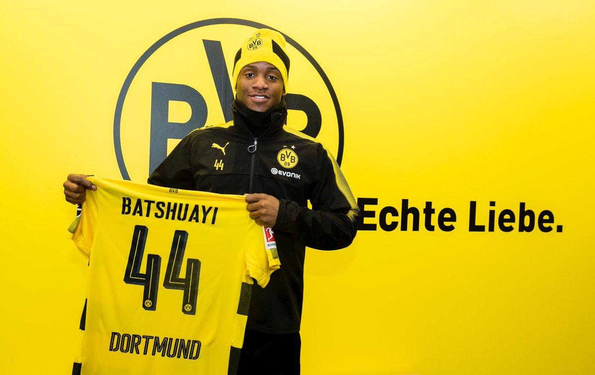 BVB leiht Michy #Batshuayi bis Saisonende vom @ChelseaFC aus