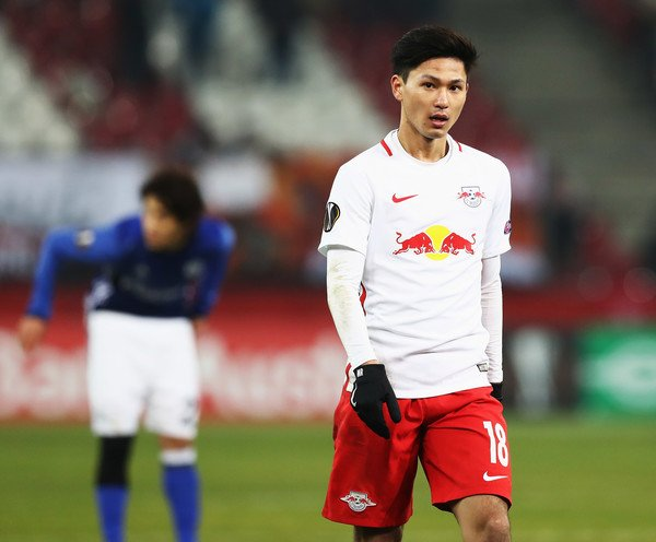 Takumi Minamino has extended his contract at Red Bull Salzburg until 2021