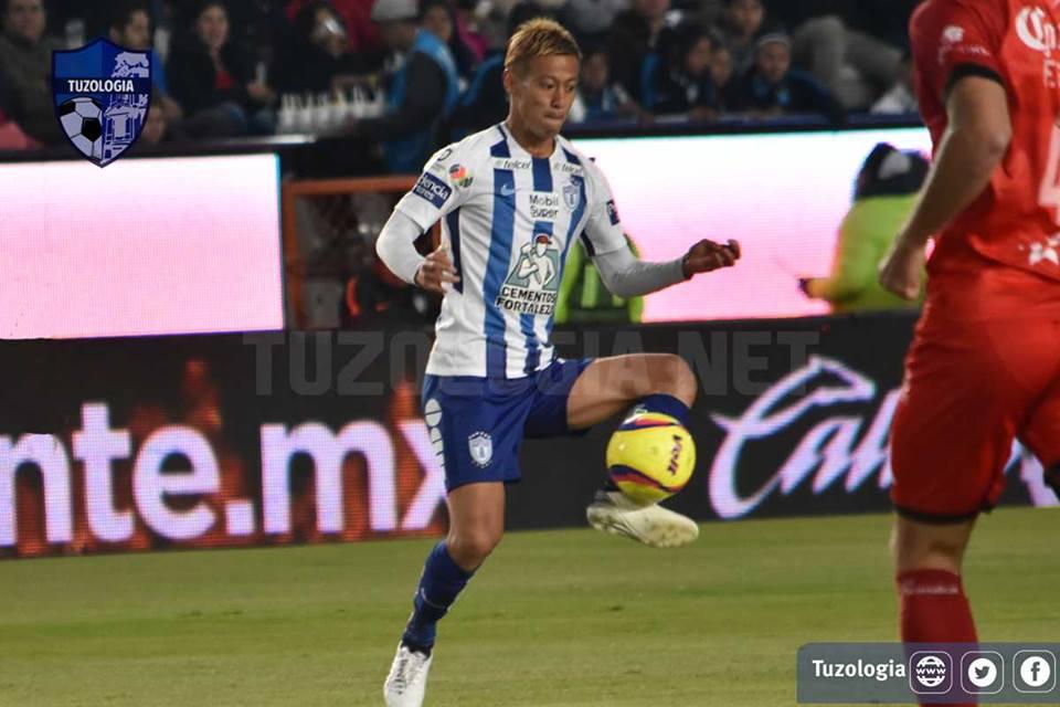 Pachuca [2]-2 Morelia Keisuke Honda freekick goal