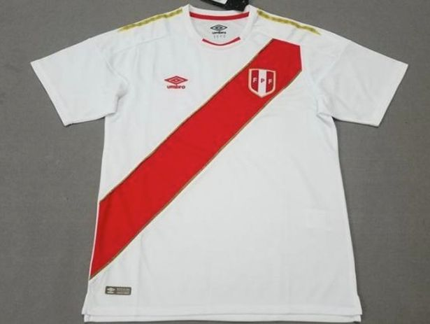 peru World-Cup-Kit 2018
