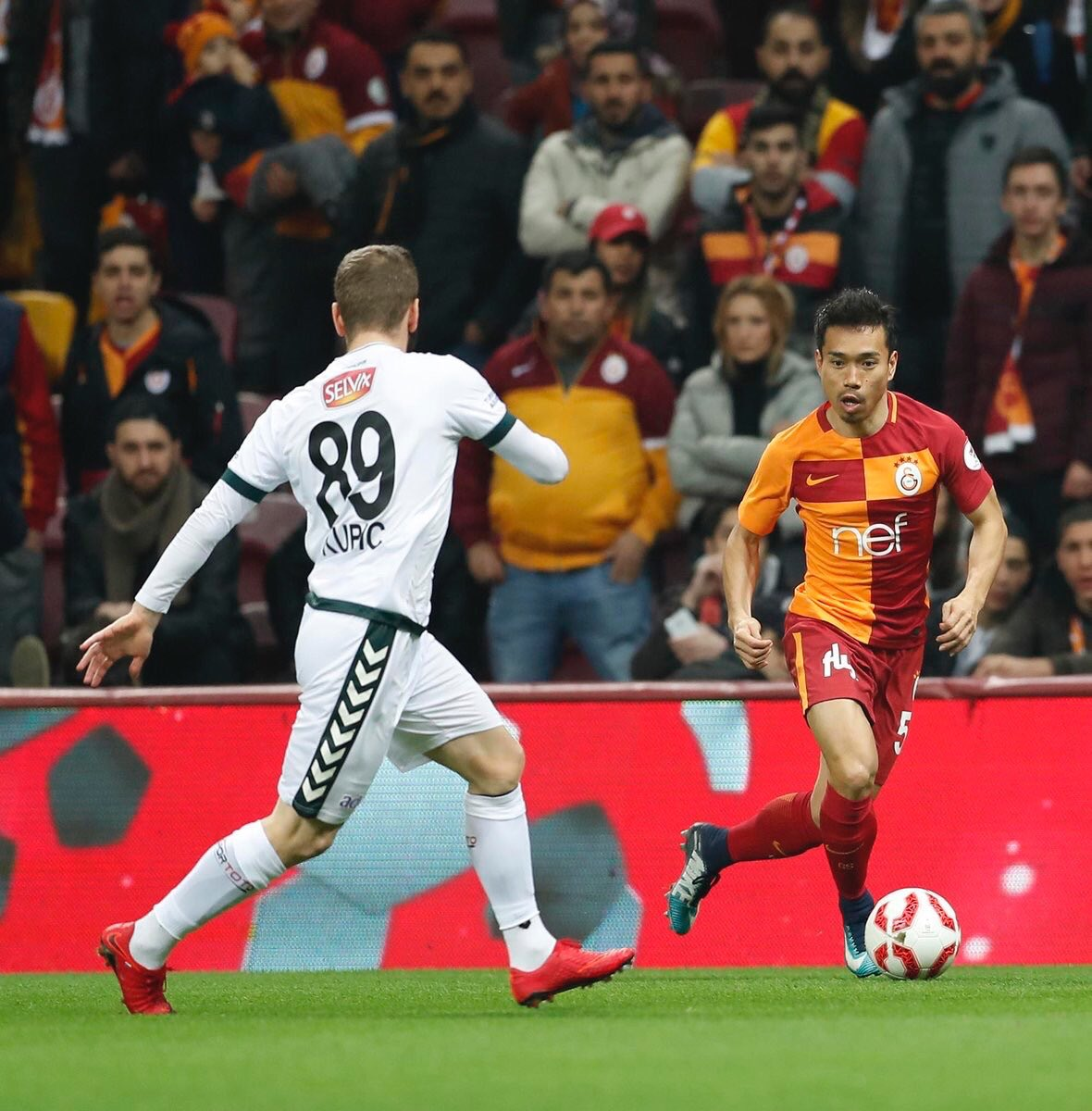 nagatomo yuto Galatasaray vs Konyaspor [Turkish Cup]