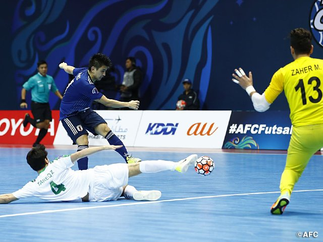 Japan confirm their place in the #AFCFutsal2018 final