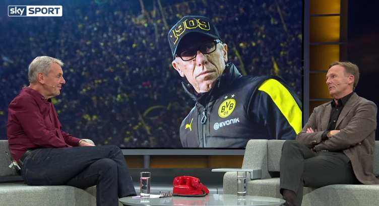 Watzke hints at new Stöger contract 2018