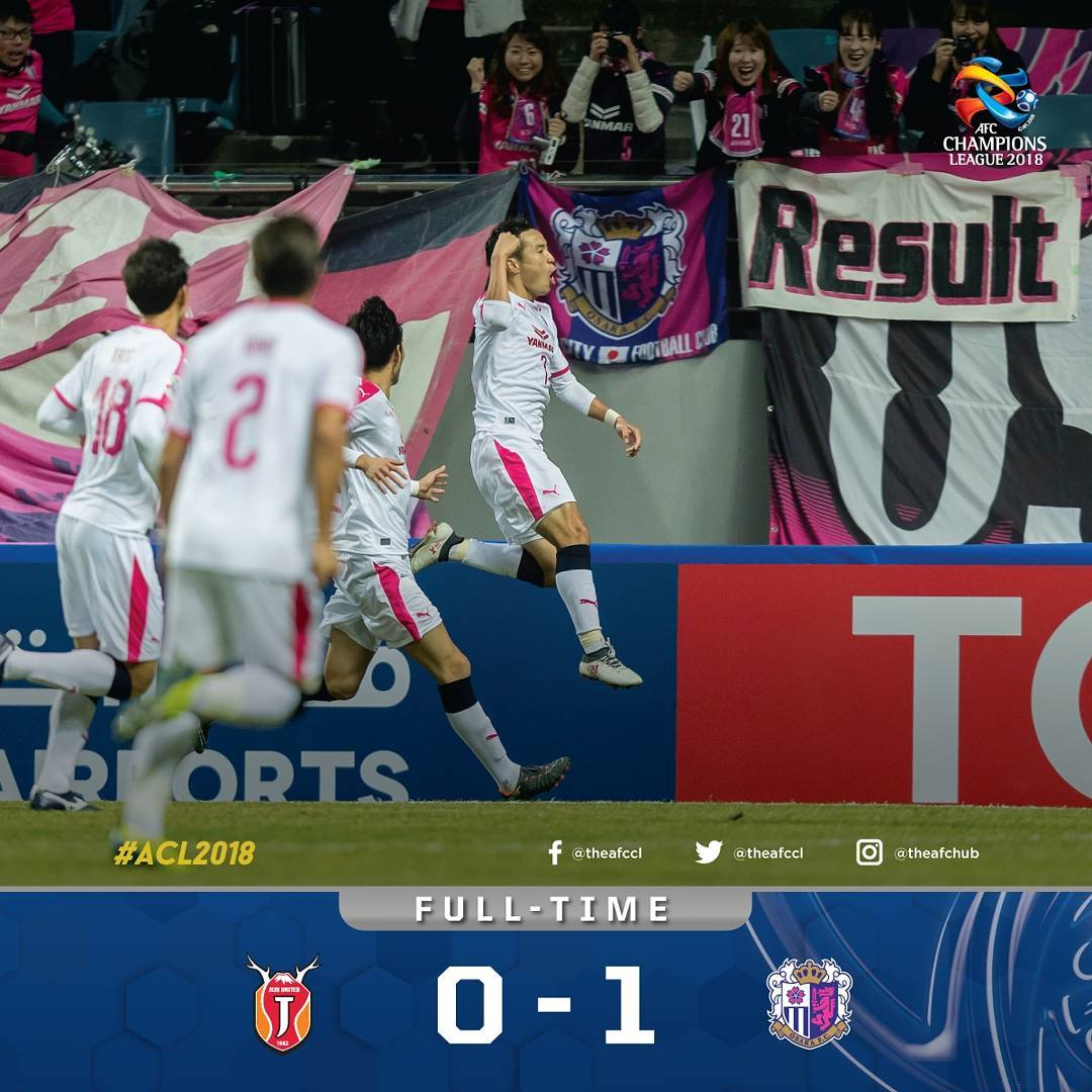 Jeju United FC 0-1 Cerezo Osaka mizunuma goal