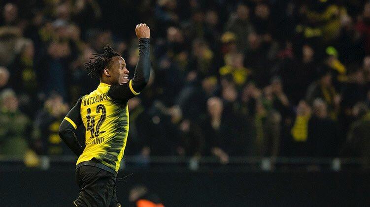Dortmund [3]-2 Atalanta - Michy Batshuayi