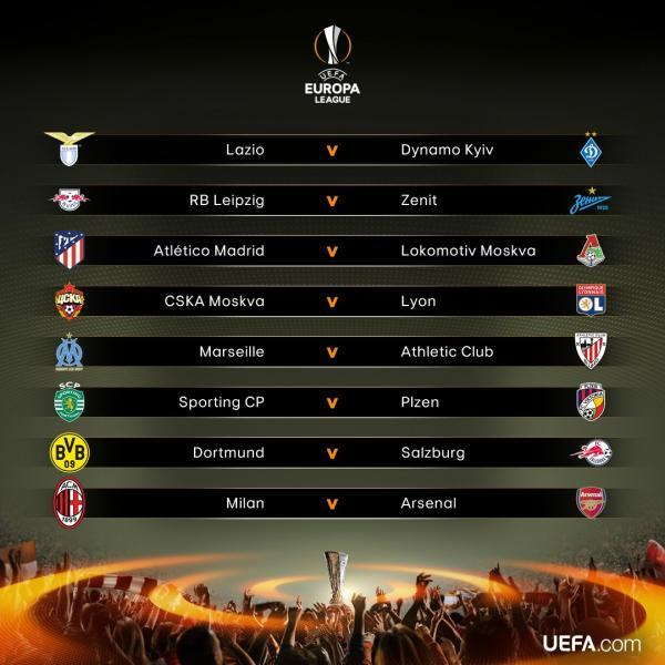The_official_result_of_the_Round_of_16_#UELdraw_2018