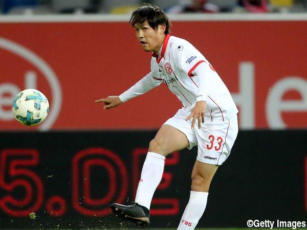 Regensburg 4-3 Dusseldorf Takashi Usami goal