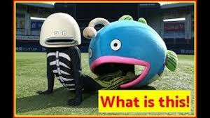 Mysterious Fish mascot
