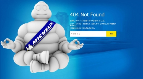 michelin error