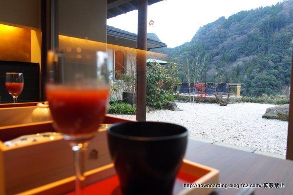 「白加賀」 朝食 個室 あさもやテラス