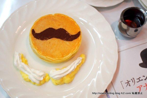 ひげのパンケーキ