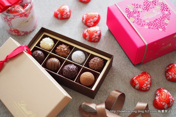 リンツのバレンタインチョコレート2018