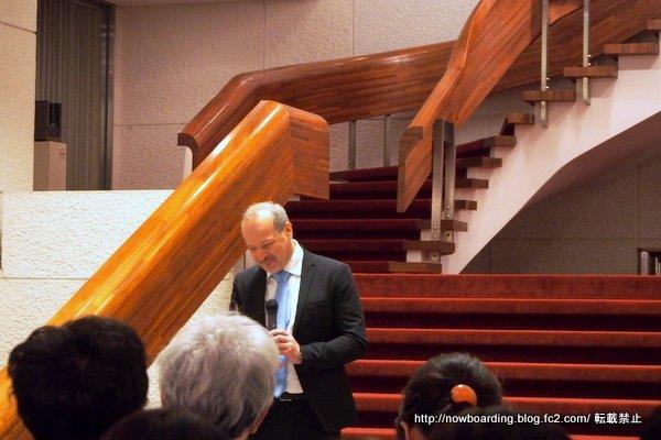チェコ共和国駐日特命全権大使トマーシュ・ドゥプ氏