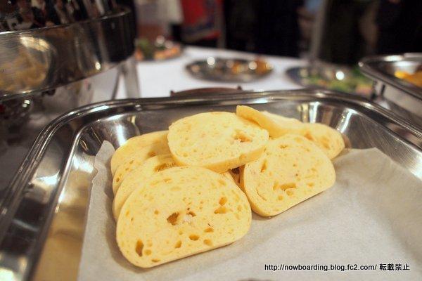 チェコ料理 クネドリーキ 茹でパン