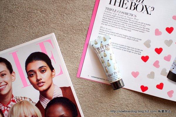 Trifle Cosmetics  SUGAR PEAR - SUBLIME LIP SCRUB ルックファンタスティックビューティボックス 感想ブログ