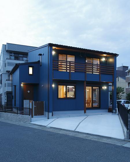 1293:③高畑に建つ雅の家(外観)