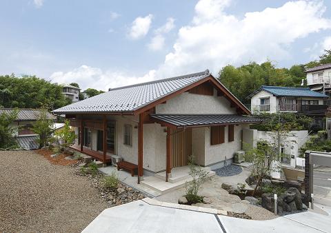 1295:④大高の緑に包まれた家(外観)