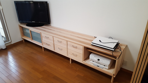 1302:⑦O様邸TV台