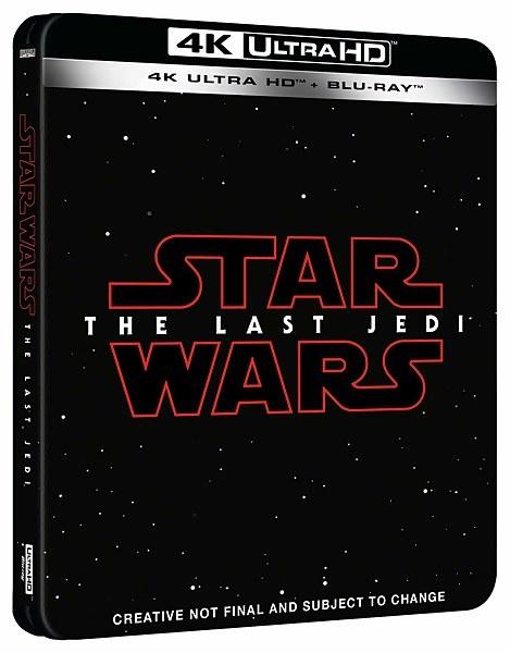 スター・ウォーズ 最後のジェダイ Star Wars: The Last Jedi スチールブックsteelbook