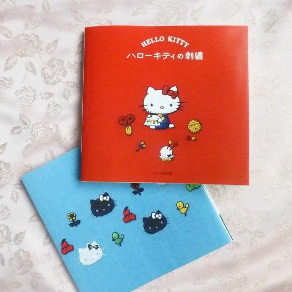 キティちゃんの刺繍