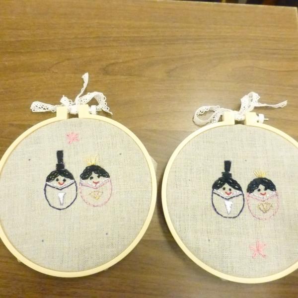 小学生の手芸教室2月