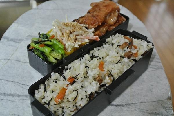 ひじきご飯3