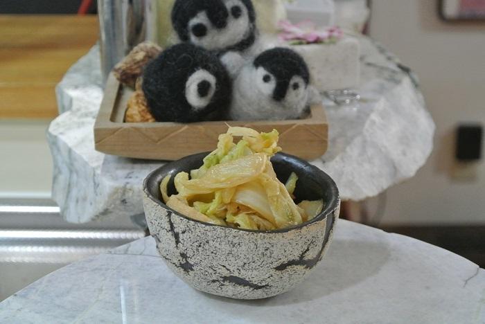 白菜と油揚げの炒め煮4
